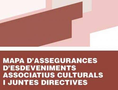 Publiquem el Mapa d'assegurances per a activitats culturals i associatives