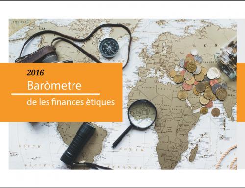 Baròmetre de les Finances Ètiques 2016