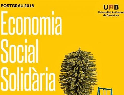 L'ESS a l'acadèmia: postgrau en Economia Social i Solidària