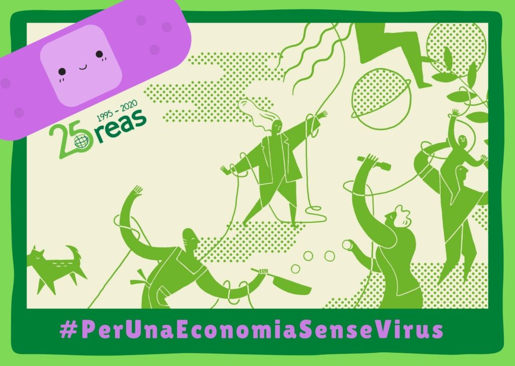 Campanya REAS Per una economia sense virus
